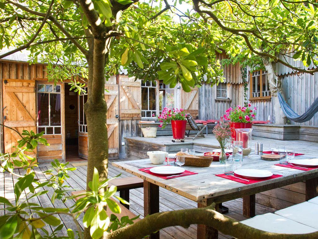 Abritel Location Le Cap Ferret - Villa tout en bois pour 7 personnes