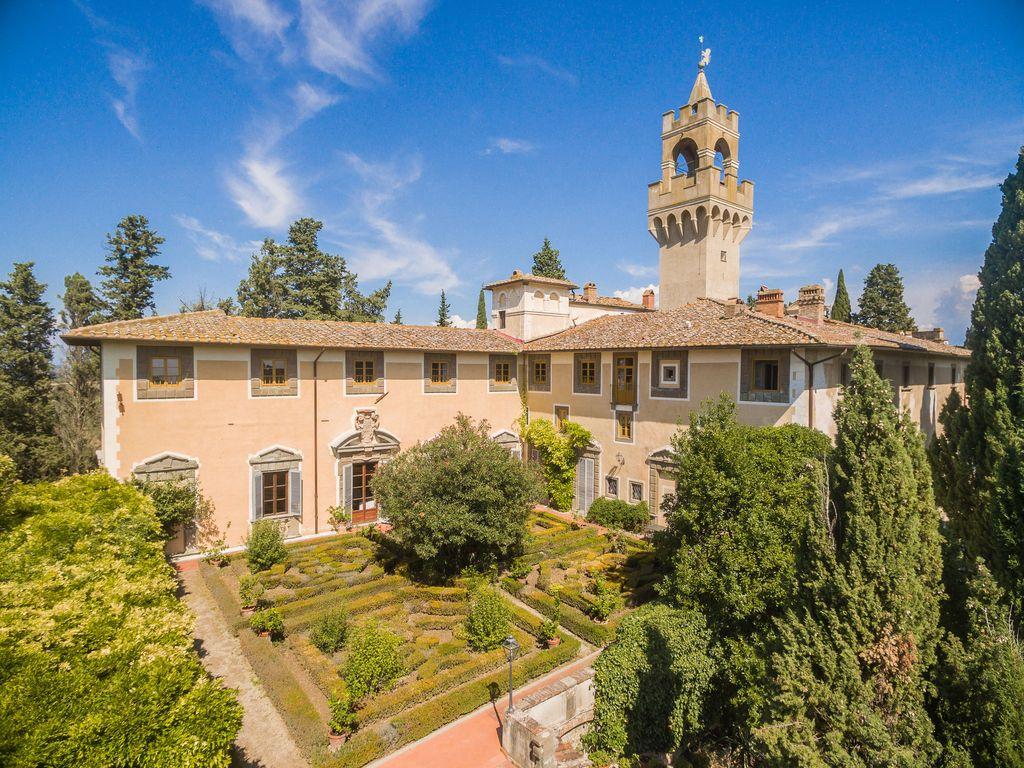 Abritel Location Italie - Appartement dans un château à Montegufoni en Toscane