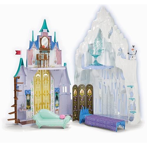 La reine des neiges le ch teau et le palais de glace for Chateau de glace reine des neiges