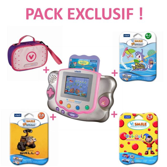 Pack Exclusif Console Vsmile