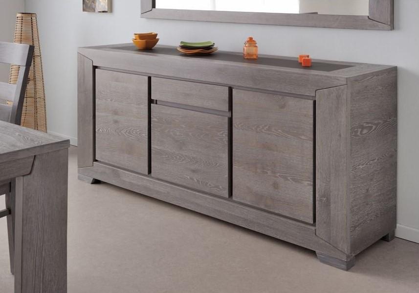 last meubles enfilade 3 portes sydney soldes buffet rue du commerce ventes pas. Black Bedroom Furniture Sets. Home Design Ideas
