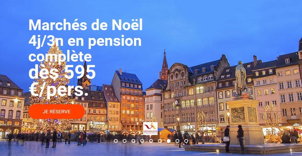 Marché de Noel pas cher Carrefour Voyages