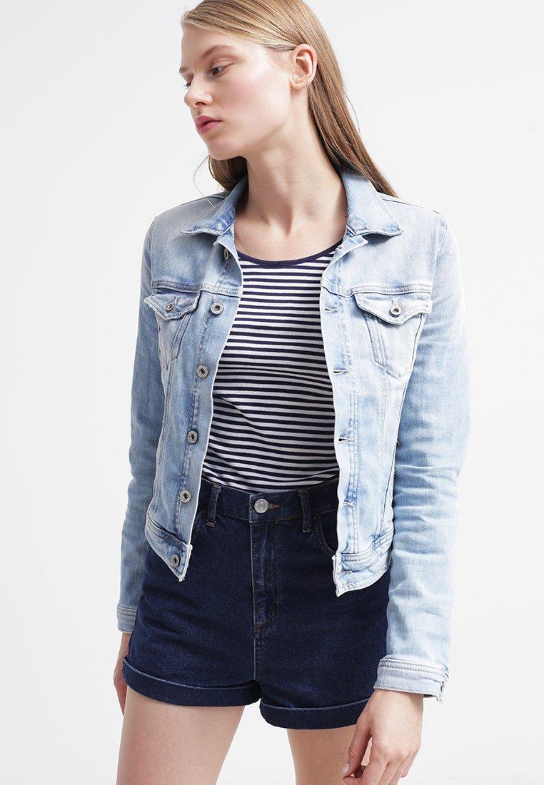 Veste en jeans pour femme pas cher