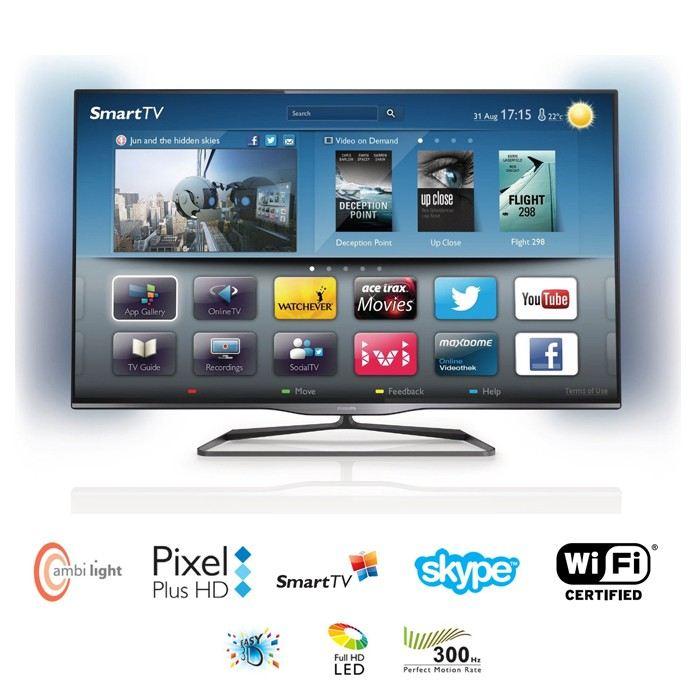 tv led 3d cdiscount philips 47pfl5008h tv led 3d smart. Black Bedroom Furniture Sets. Home Design Ideas