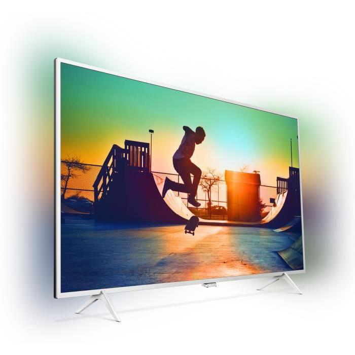 philips 55pus6432 tv led 4k ultra plat 139cm pas cher. Black Bedroom Furniture Sets. Home Design Ideas