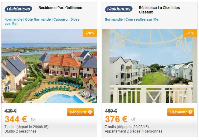 Location Normandie Pierre et Vacances - Location Vacances en Normandie