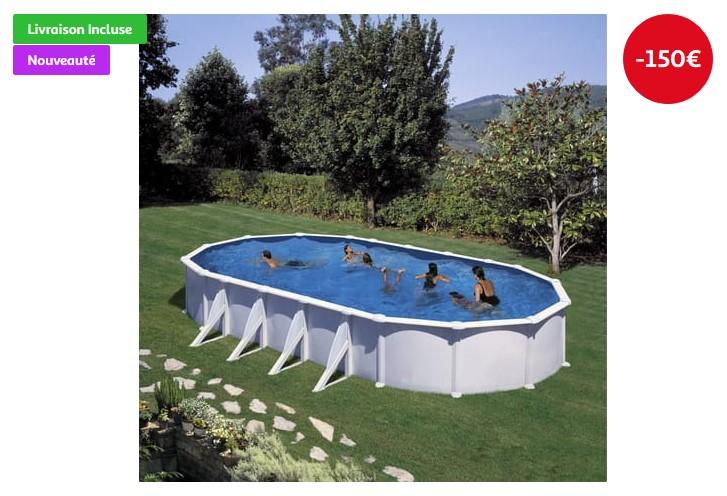 Piscine acier fidji pas cher piscine auchan ventes pas - Piscine hors sol acier pas cher ...