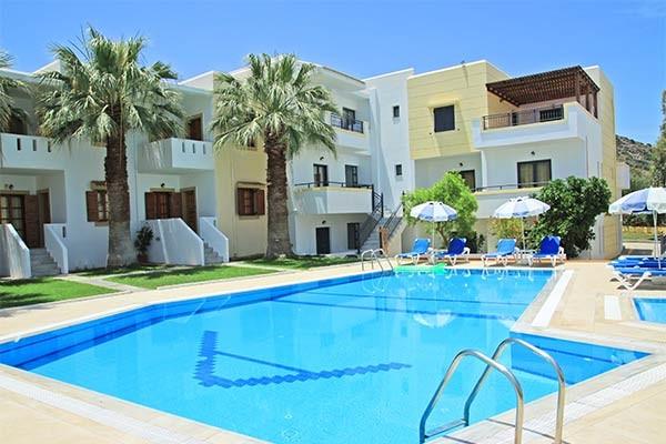 Hôtel Angelika 3* à Milatos en Crète - Voyages Sncf