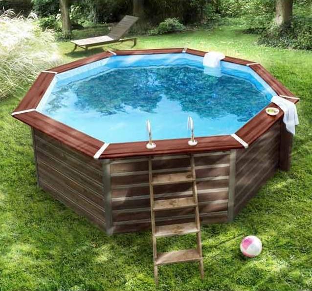 piscine bois blooma kari pas cher piscine castorama ventes pas. Black Bedroom Furniture Sets. Home Design Ideas