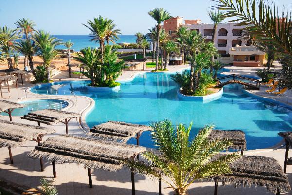 Hôtel Safira Palms à Djerba Zarzis en Tunisie