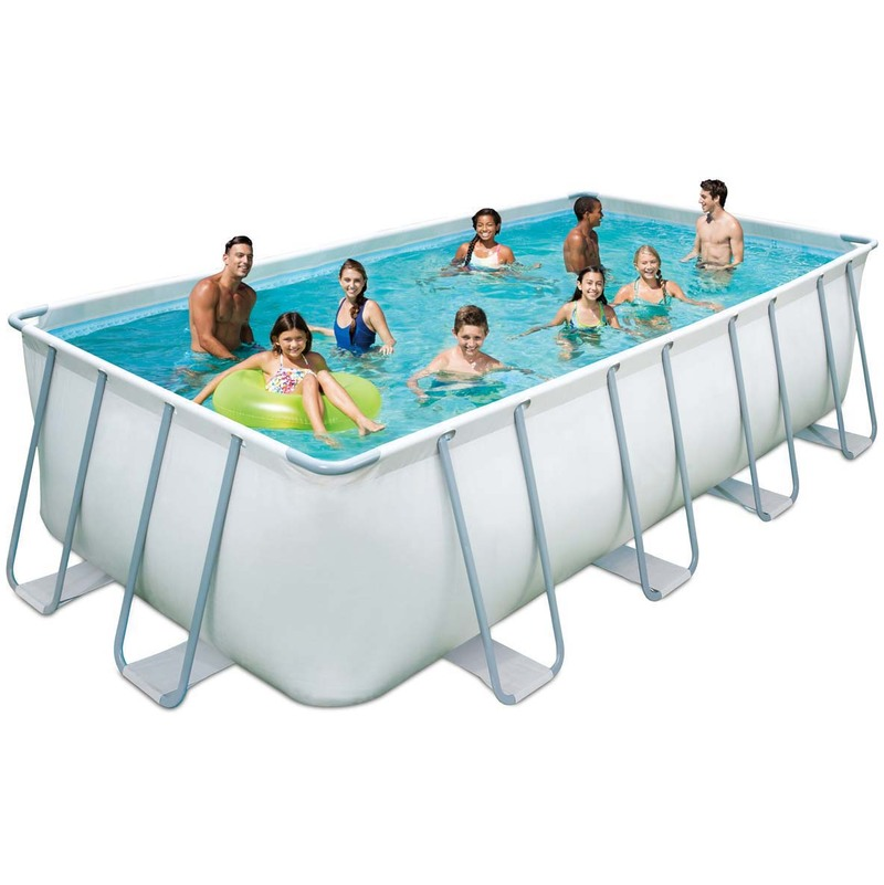 Piscine tubulaire elite pas cher piscine manomano for Grande piscine tubulaire pas cher