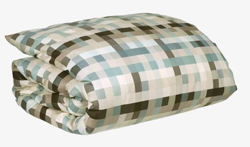 pixel housse de couette 200 x 200 cm vert housse de couette habitat ventes pas. Black Bedroom Furniture Sets. Home Design Ideas