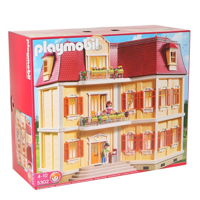playmobil 5302 maison de ville jouets cdiscount ventes. Black Bedroom Furniture Sets. Home Design Ideas