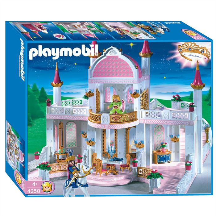 playmobil ch teau de princesse jouets cdiscount ventes. Black Bedroom Furniture Sets. Home Design Ideas