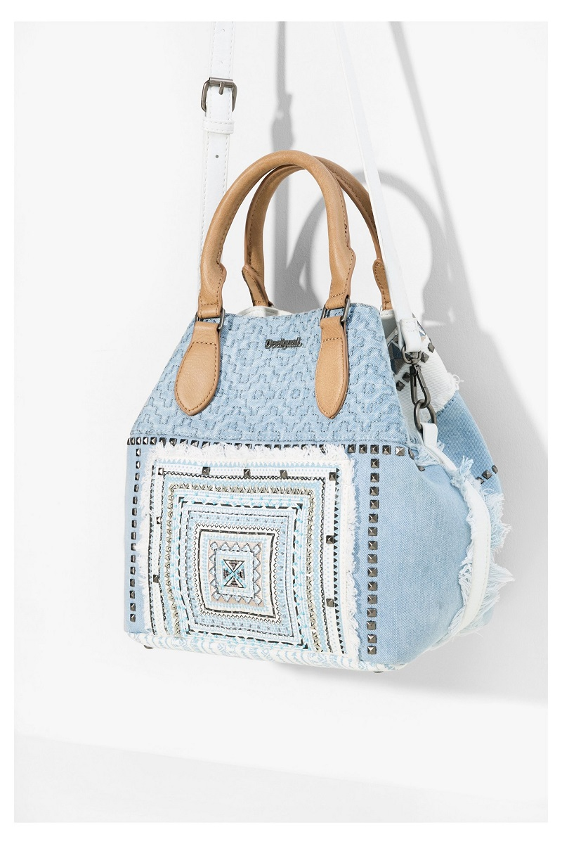 Sac en denim Florida Whitney Desigual