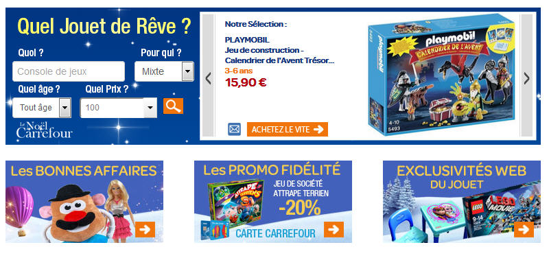 Jouets Carrefour