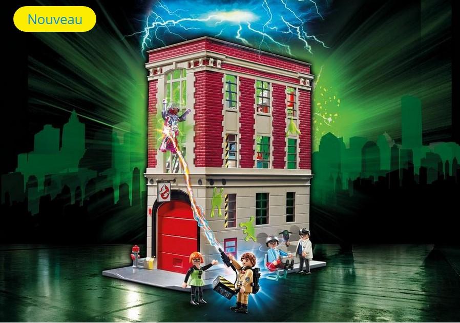 Quartier Général Ghostbusters 9219 PLAYMOBIL pas cher - Jouets Playmobil