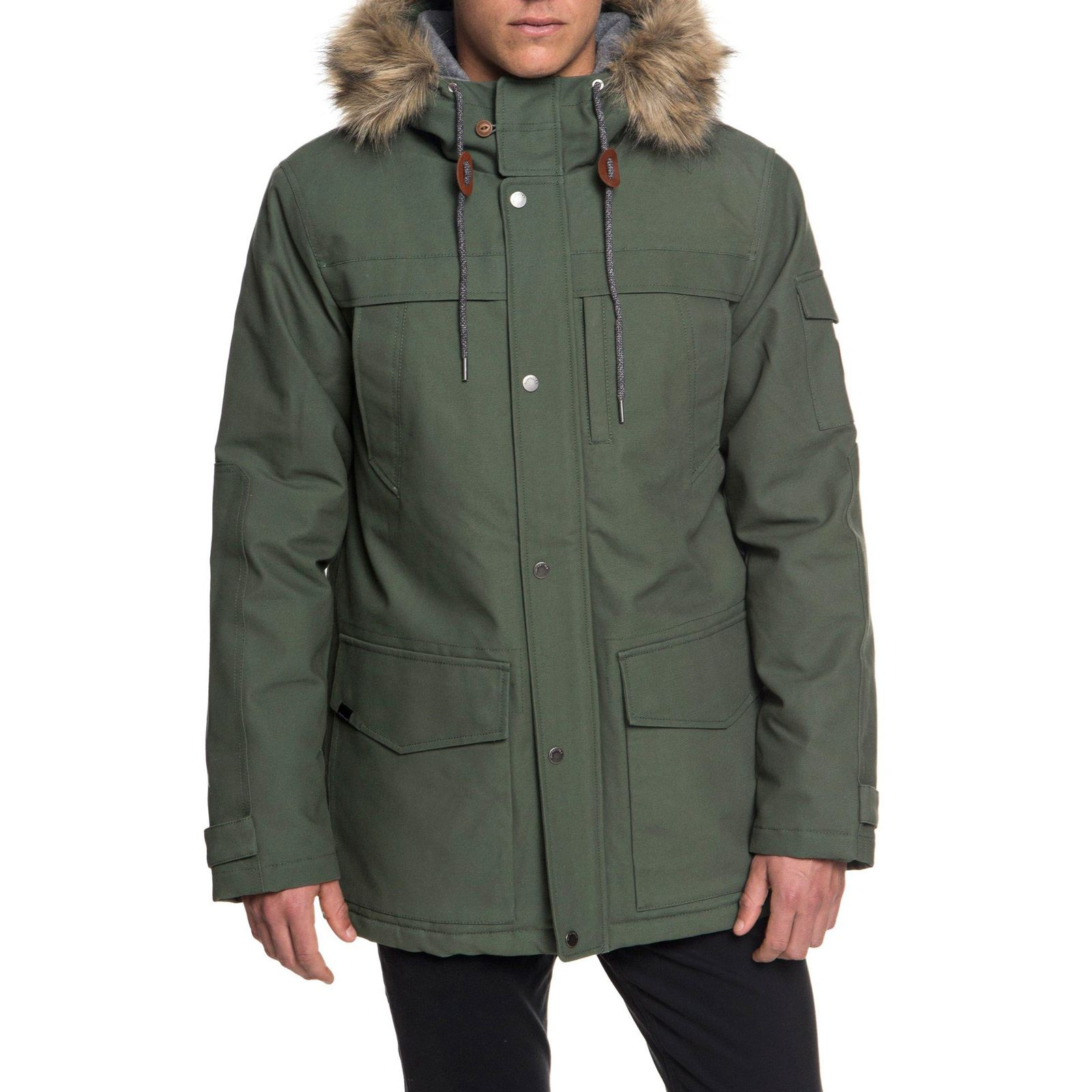 Quiksilver Storm Parka army
