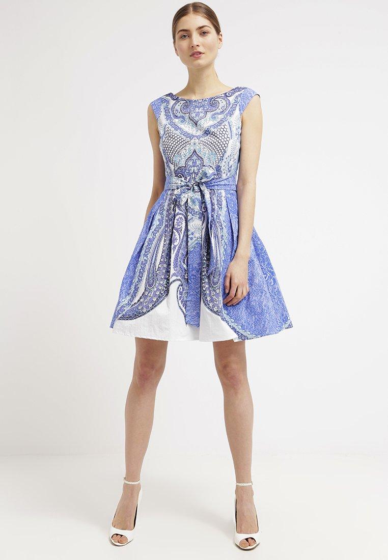 derhy bombay robe d 39 t bleu robe d 39 t derhy zalando ventes pas. Black Bedroom Furniture Sets. Home Design Ideas