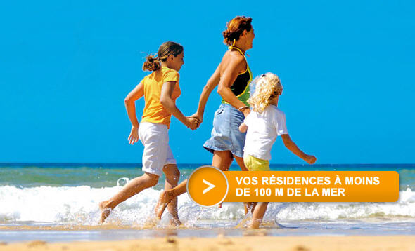 Odalys Vacances Location Bord de Mer pas cher à partir de 108.50 €