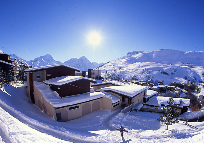 Résidences réparties les 2 Alpes 1600