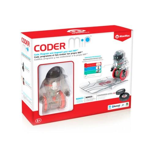 Robot Connecté de codage Coder Mip - Jeux interactifs Oxybul éveil et Jeux
