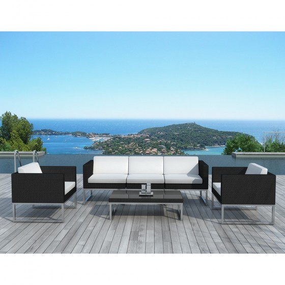 salon de jardin design malaga atilya salon de jardin. Black Bedroom Furniture Sets. Home Design Ideas