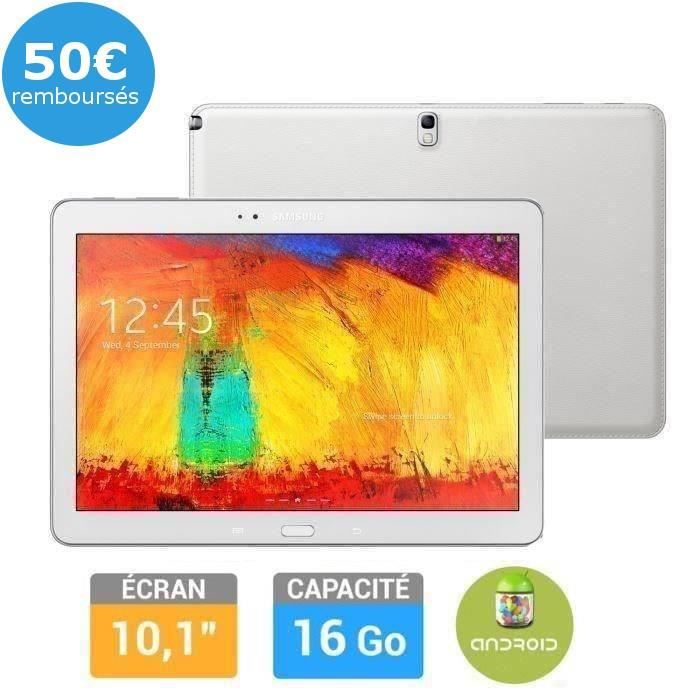 samsung galaxy note 10 39 edition 2014 blanc tablettte pas cher cdiscount ventes pas. Black Bedroom Furniture Sets. Home Design Ideas