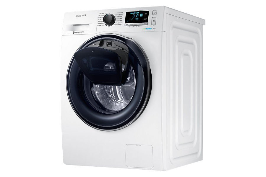 samsung lave linge connect add wash ww90k6414qw soldes lave linge rue du commerce ventes. Black Bedroom Furniture Sets. Home Design Ideas