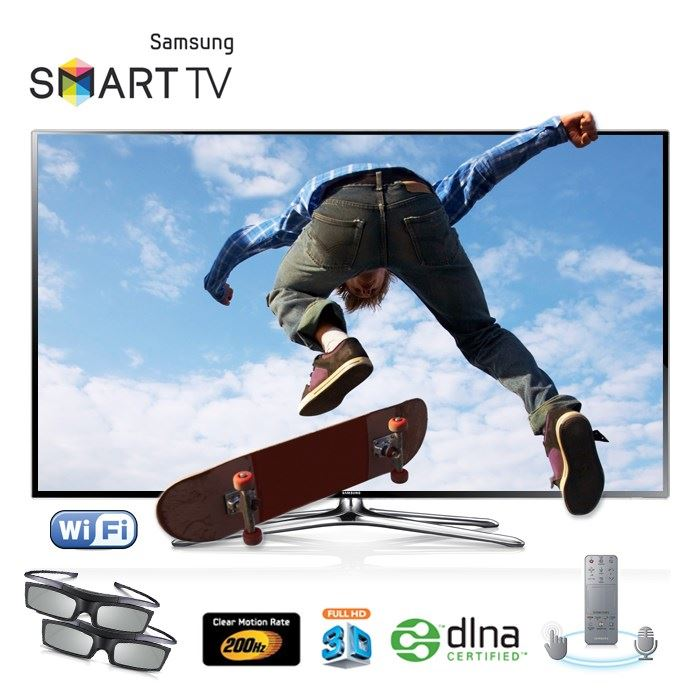 samsung ue40f6400 led tv 3d smart tv tv led pas cher cdiscount soldes cdiscount top soldes. Black Bedroom Furniture Sets. Home Design Ideas
