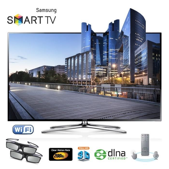 samsung ue46f6400 led tv 3d smart tv t l viseur led cdiscount soldes cdiscount top soldes. Black Bedroom Furniture Sets. Home Design Ideas