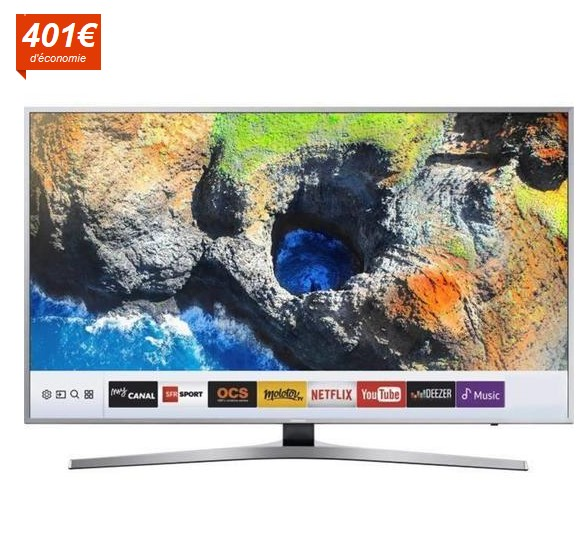 SAMSUNG UE49KU6450 TV LED UHD 123cm - Cdiscount