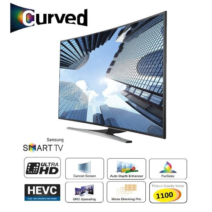 samsung ue55ju6500 smart tv uhd 4k curved 138cm tv 4k. Black Bedroom Furniture Sets. Home Design Ideas