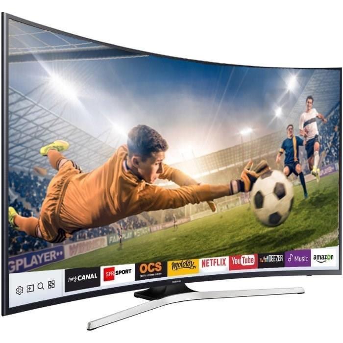 SAMSUNG UE55MU6292 TV LED incurvée UHD 138 cm, Soldes Téléviseur Cdiscount
