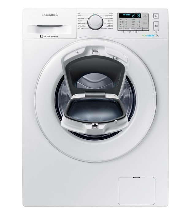 Lave linge hublot Samsung WW70K5413WW/EF ADD WASH - Darty