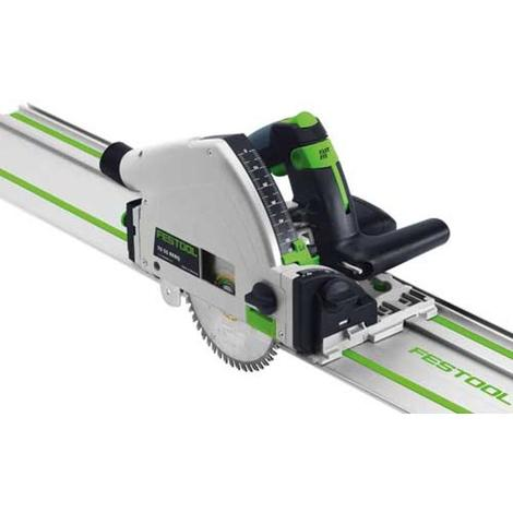Scie plongeante 160mm 1050W TS 55 RQ-Plus + Rail de guidage FS 1400/2 FESTOOL 712634 - ManoMano