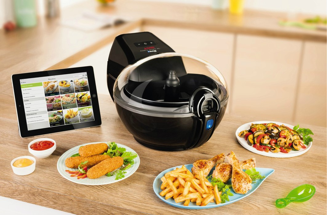 Friteuse Seb AH980800 ACTIFRY CONNECTÉE SMART XL, Friteuse Darty