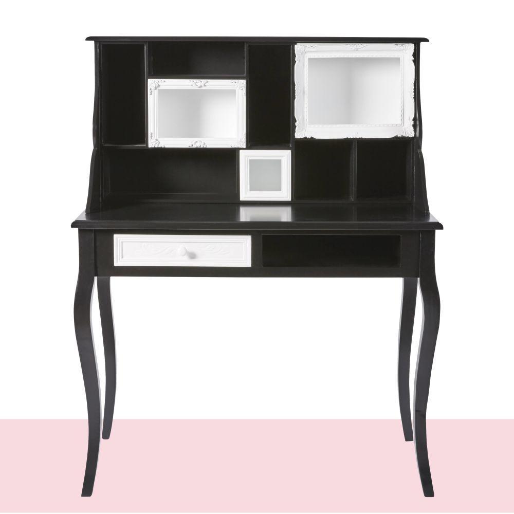 Secrétaire CHANTAL THOMASS 1 tiroir noir et blanc - Maisons de Monde