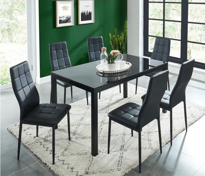 Selva Ensemble Table A Manger De 6 A 8 Personnes Pas Cher Table