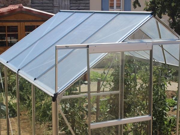 Serre de jardin verre tremp 3mm lams basilic 10m pas - Serre de jardin en verre pas cher ...