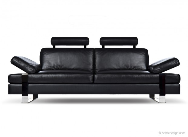 canap achatdesign canape cuir 3 places sigma prix 1 190 00 euros ventes pas. Black Bedroom Furniture Sets. Home Design Ideas