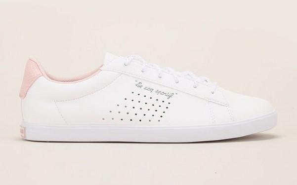 Le Coq Sportif AGATE LO S LEA Sneakers à lacets pailletés  - Monshowroom