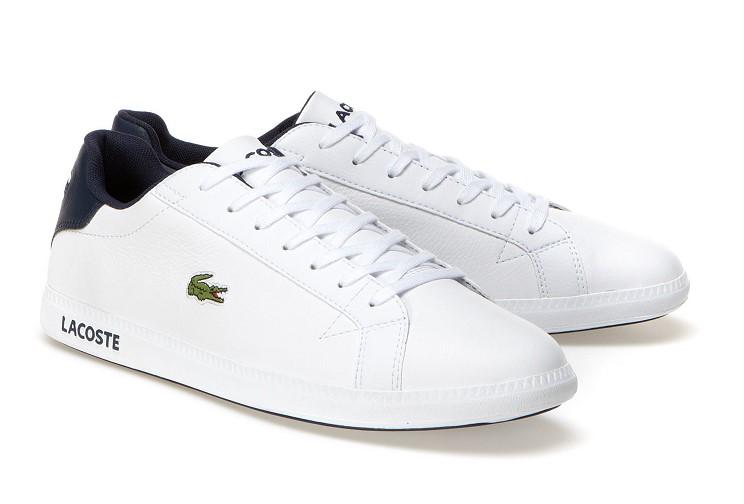 Sneakers basses Graduate Lacoste en cuir
