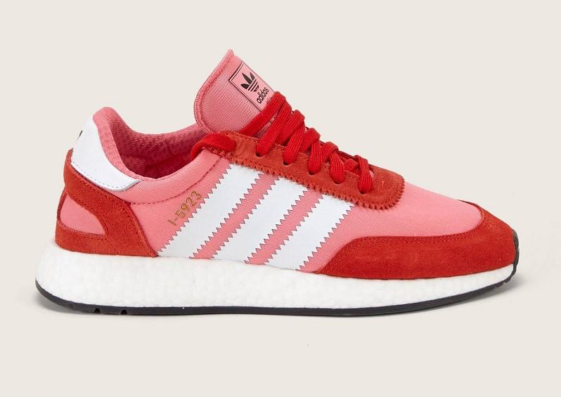 Adidas Sneakers bi-matière I-5923 W rose - Monshowroom