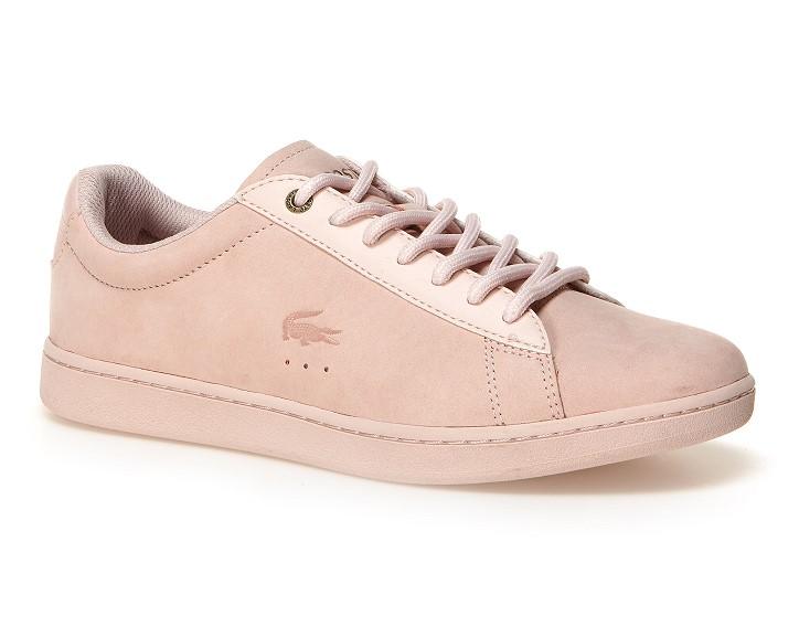 Sneakers Chaymon Lacoste en cuir nappa suédé et textile