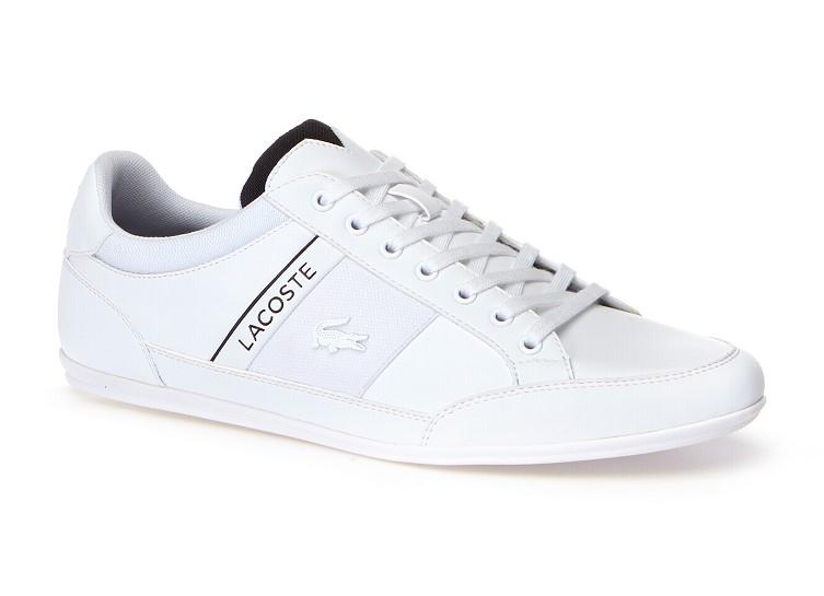 Sneakers Chaymon homme Lacoste en cuir nappa