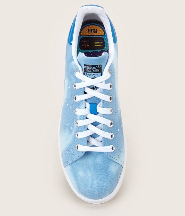 Adidas Stan Smith X Pharrell Williams PW HU HOLI Sneakers délavées bleu - Monshowroom