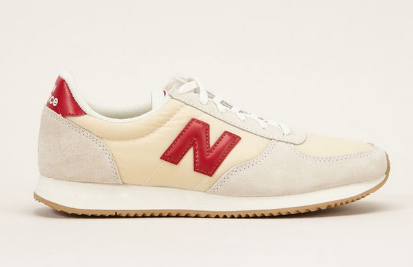 New Balance Sneakers BG White en cuir/textile - Monshowroom