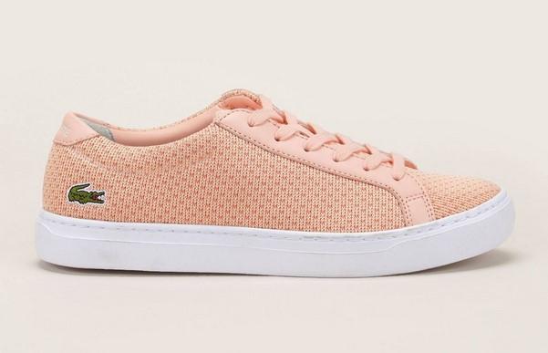 Lacoste Footwear Sneakers en textile rose