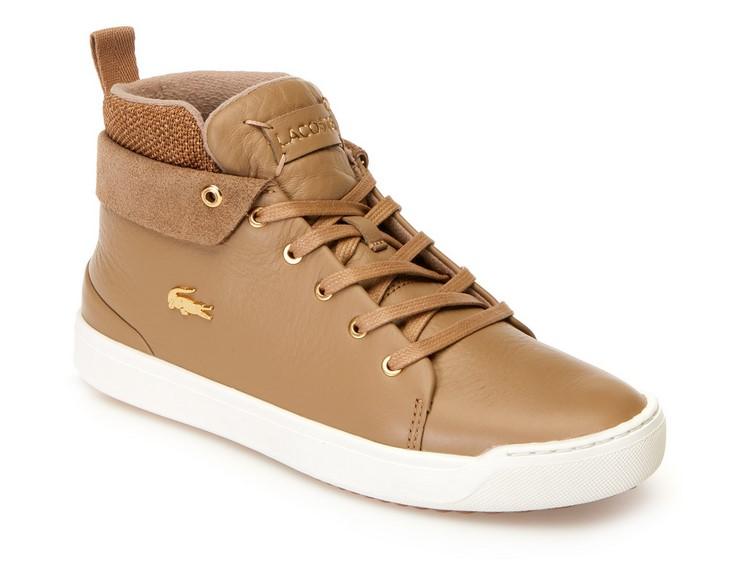 Sneakers Explorateur Classic Lacoste en mi-cuir et textile